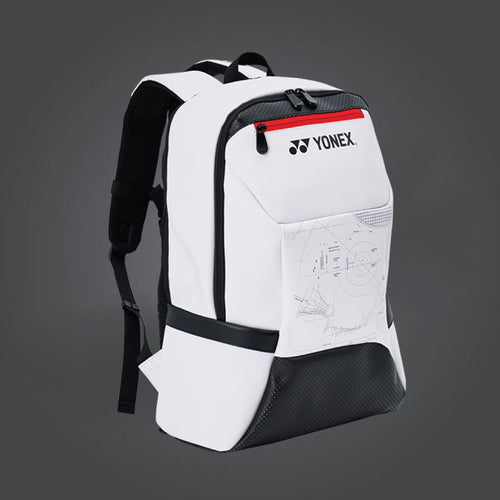 Yonex 209BP003U (White) Short Backpack Badminton Tennis Racket Bag
