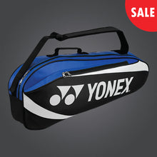 Load image into Gallery viewer, Yonex 8923 (Blue/ Black) 3pk Badminton Tennis Racket Bag