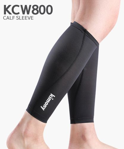 Kimony Compression Calf Sleeves Supporter KCW800 (Black)