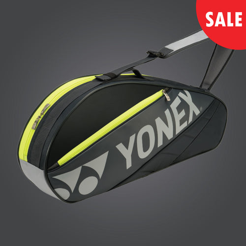 Yonex 7623 (Dark Grey) 3pk Badminton Tennis Racket Bag