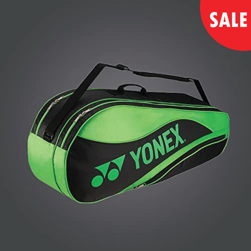 Yonex 4836 (Green) 6pk Badminton Tennis Racket Bag