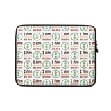 Laptop Sleeve Ubuntu Green