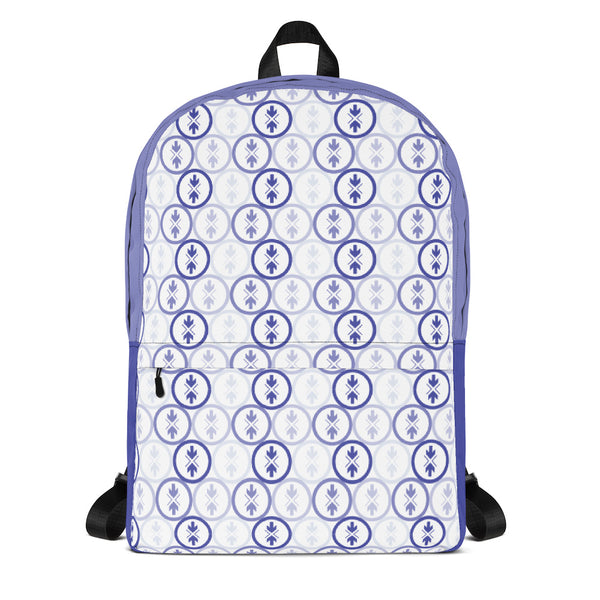Backpack Blue and Purple