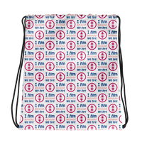 Drawstring bag Ubuntu Pink