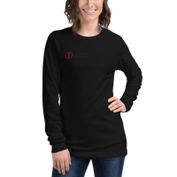 Unisex Long Sleeve Tee Stacked Logo