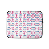 Laptop Sleeve Ubuntu Pink