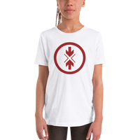 Youth Short Sleeve T-Shirt Original Red Logo