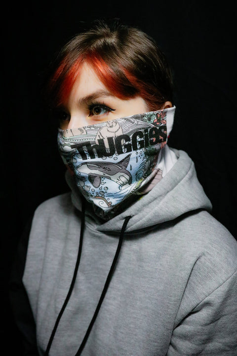 Thuggies Sea To Sky Washable Face Mask