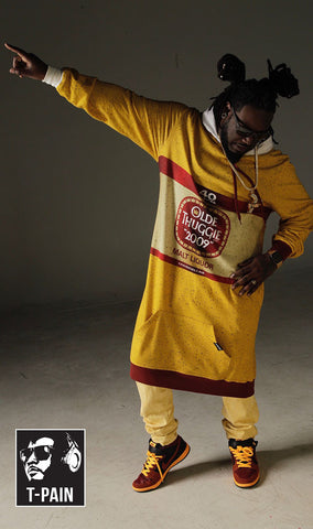 T-Pain's 40 Oz Thuggie/Chuggie Combo