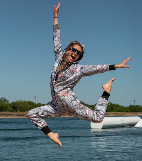 Ski To Sea Funzie Onesie - Thuggies