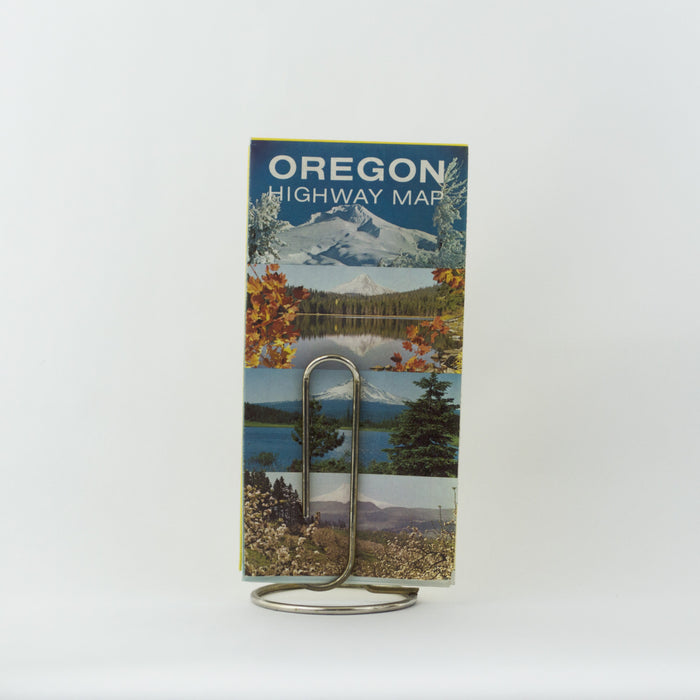 1969 Oregon Highway Map