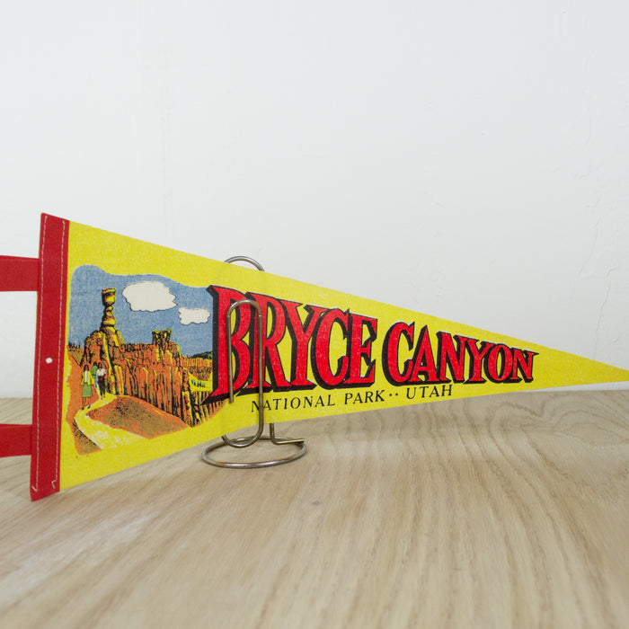 1970's Bryce Canyon National Park Pennant