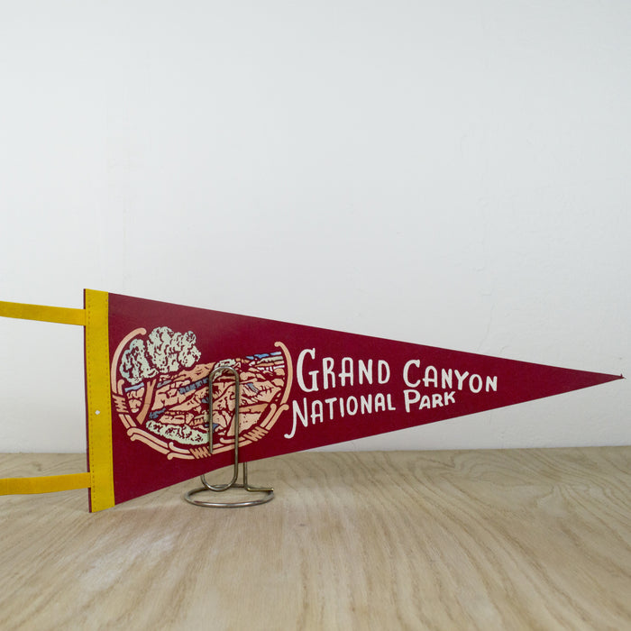 1960's Grand Canyon National Park Pennant