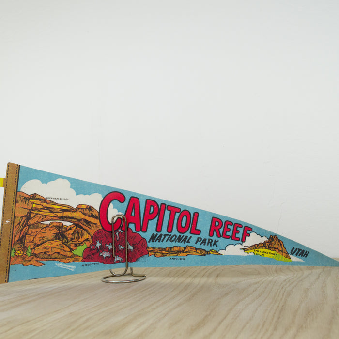 1970's Capitol Reef National Park Pennant