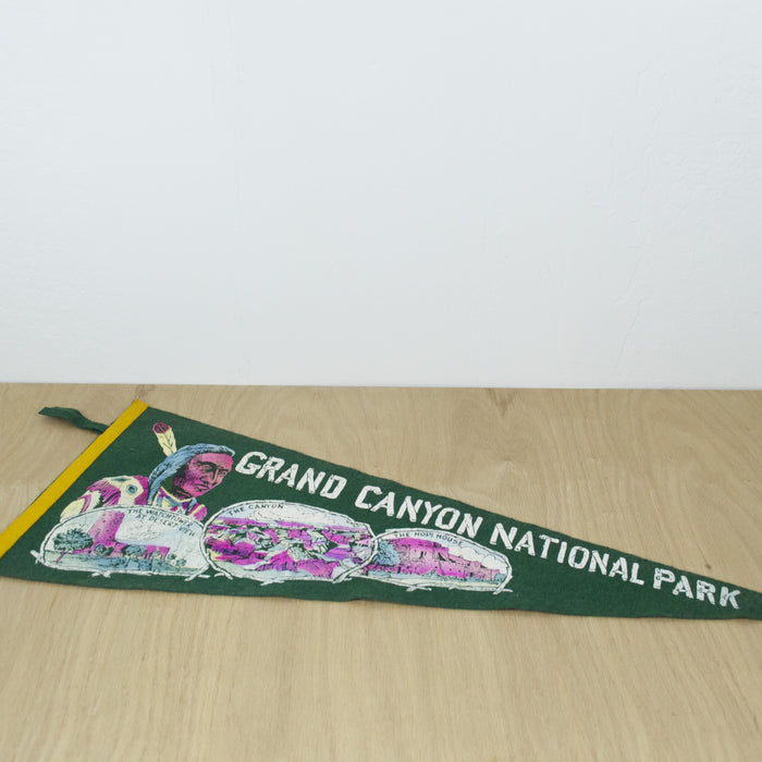 1940's Grand Canyon National Park Pennant