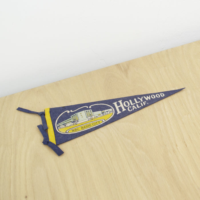 Mid-Century Hollywood, CA Pennant