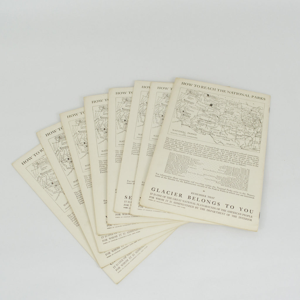 1920's National Park Portfolio Booklets