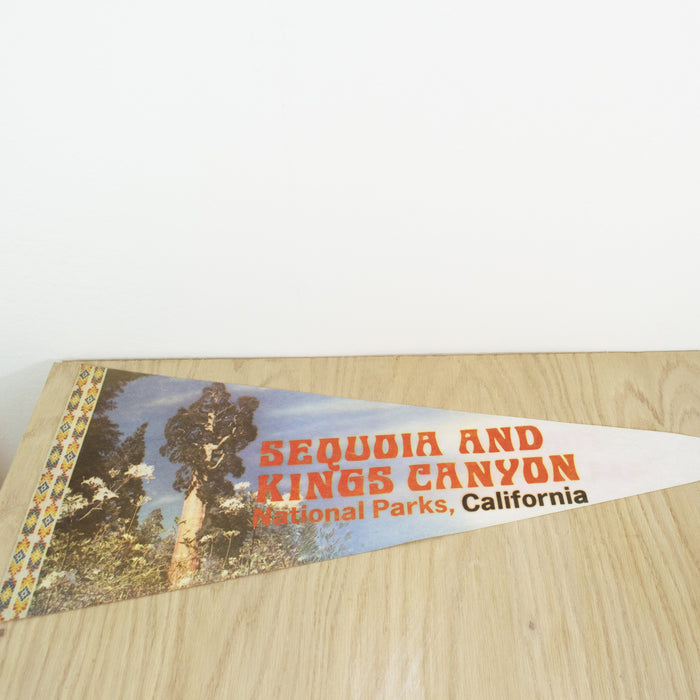 1980's Sequoia & Kings Canyon National Parks Pennant