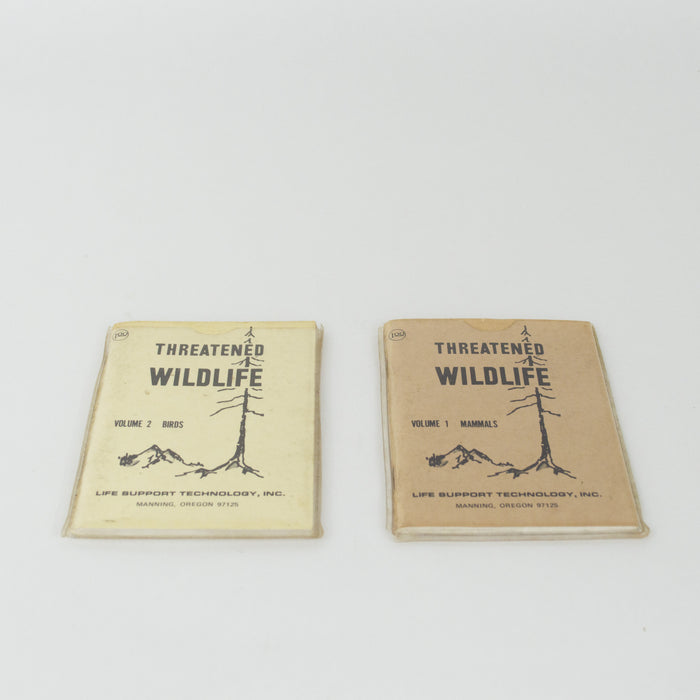1974 Threatened Wildlife Booklets