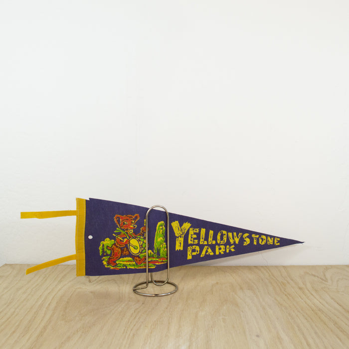1960's Yellowstone National Park Kids Pennant