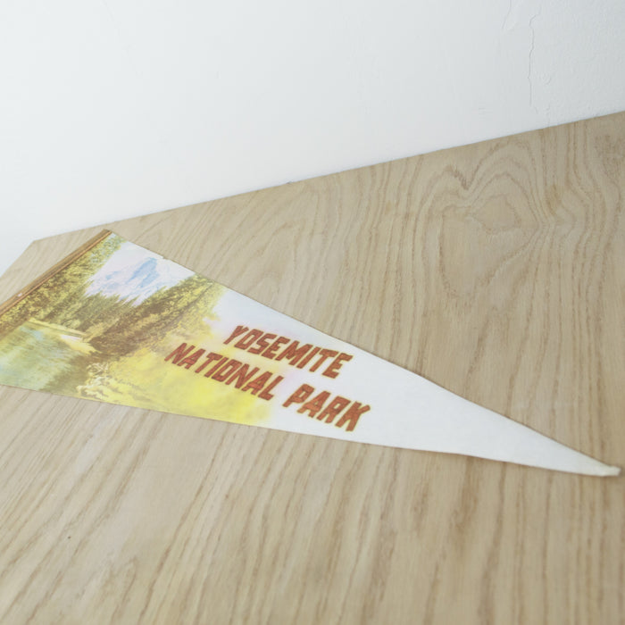 1980's Yosemite National Park Pennant