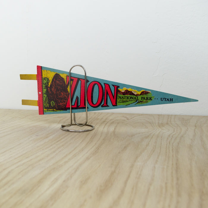 1970's Zion National Park Pennant