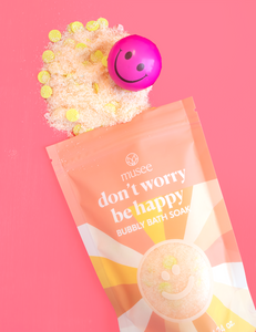 Don't Worry Be Happy Bubbly Bath Soak