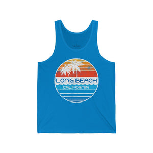 Echo Retro-Inspired Long Beach Unisex Jersey Tank
