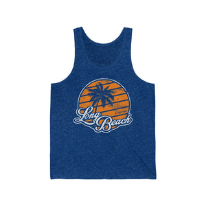 Charlie Retro-Inspired Long Beach Unisex Jersey Tank