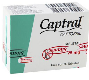 CAPTRAL 25mg