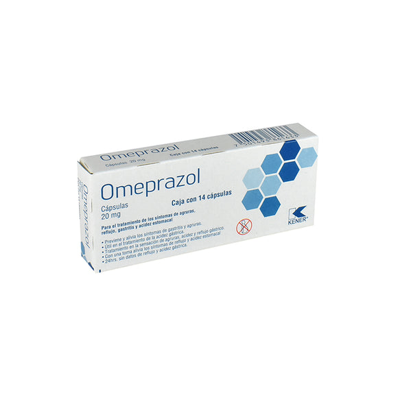 OMEPRAZOL 20 MG LAB. KENER