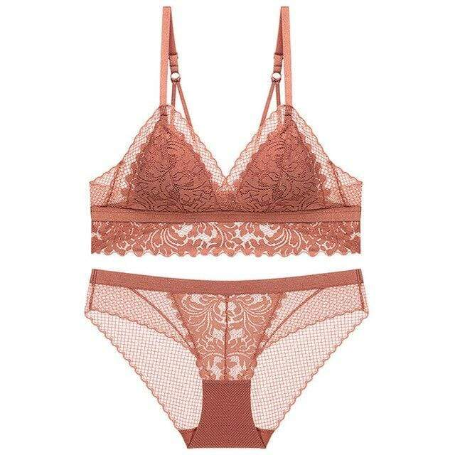Ensemble en dentelle Push-Up - CELIA - MLPR Paris