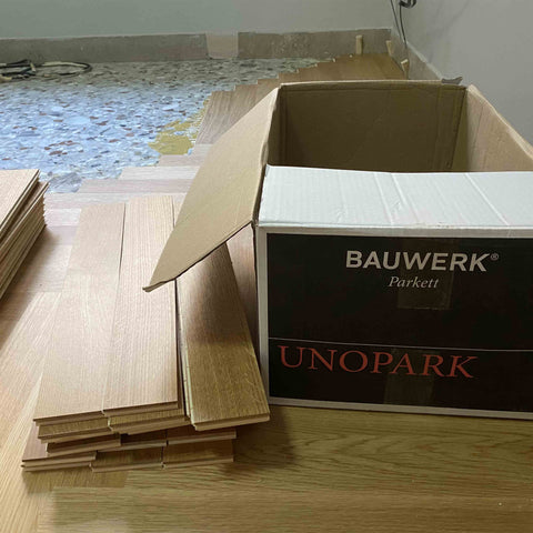 spina parquet unopark bauwerk in Stock e colla ecologica Chimiver