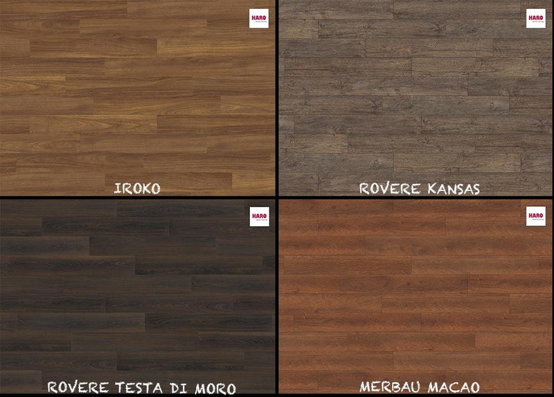 "PAVIMENTO HARO IN OFFERTA LAMINATO ""TRITTY 100"" 8x193x1282mm - Eternal Parquet"