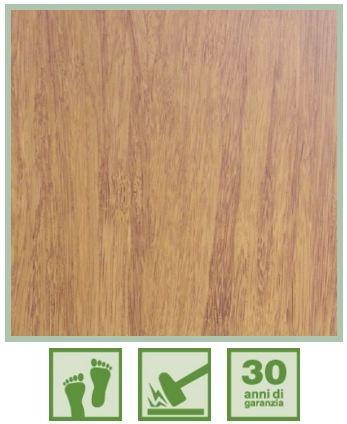 Parquet in bamboo Strand Caramel Smooth Serie Neo pavimento venato 1850x142x14mm spessore 4mm - Eternal Parquet