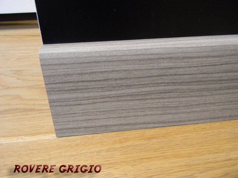 Battiscopa passacavo 1,5x8x240cm in MDF pacco da 96 metri lineari - Eternal Parquet
