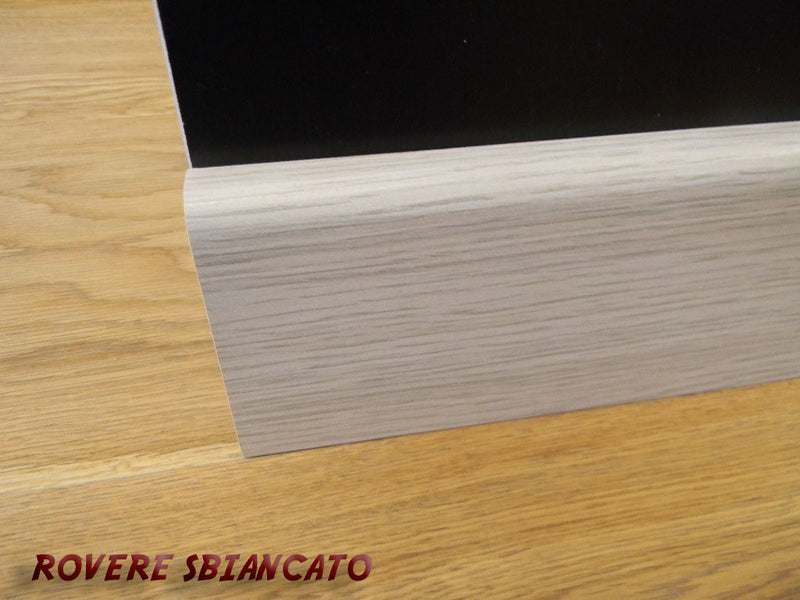 Battiscopa passacavo 1,5x8x240cm in MDF pacco da 48 metri lineari - Eternal Parquet