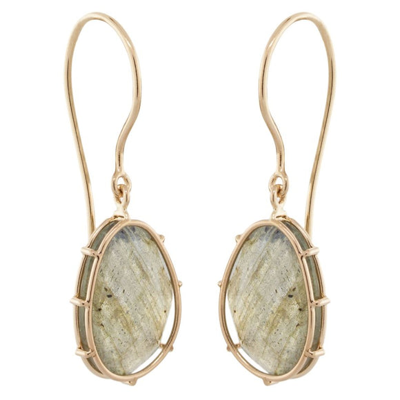 Labradorite Harriet Stone Earrings