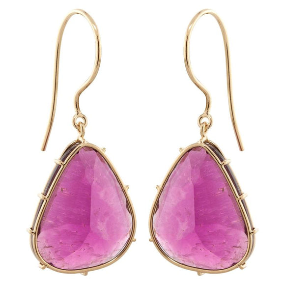 Multicolored Tourmaline Harriet Stone Earrings