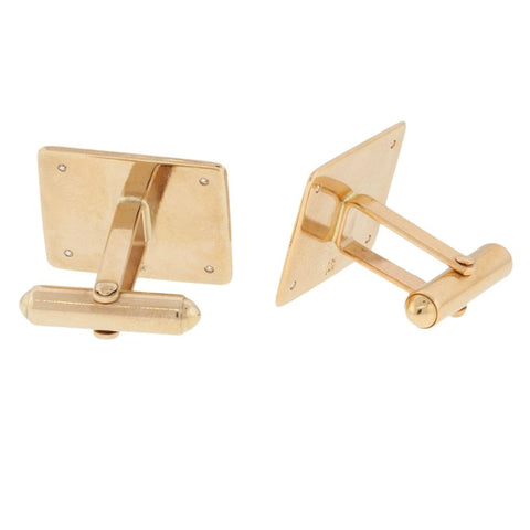 Square Monogram Cufflinks