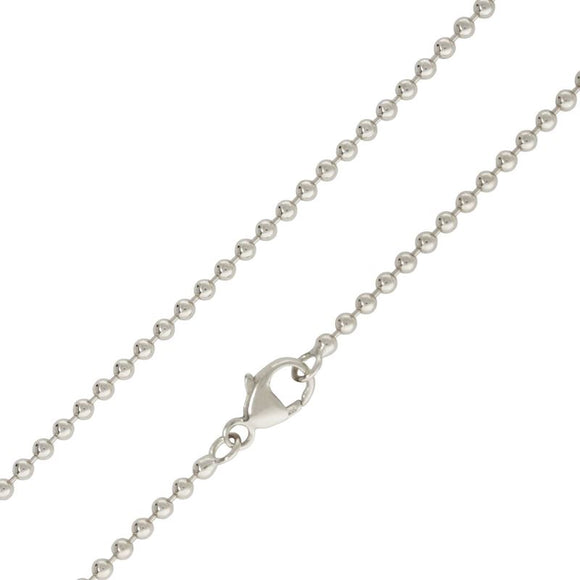Heather B. Moore Silver Ball Chain
