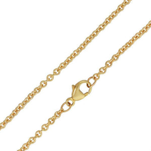 2mm Gold Chain