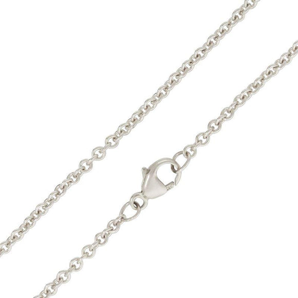 2mm Silver Chain - Heather B. Moore