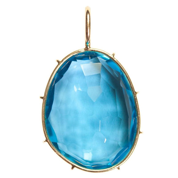 Swiss Blue Topaz Harriet Stone