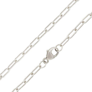 2.6mm Silver Link Chain - Heather B. Moore