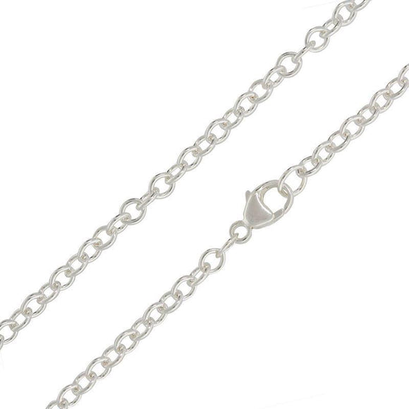 3mm Silver Chain - Heather B. Moore