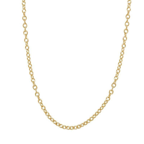 3mm Yellow Gold Chain - Heather B. Moore