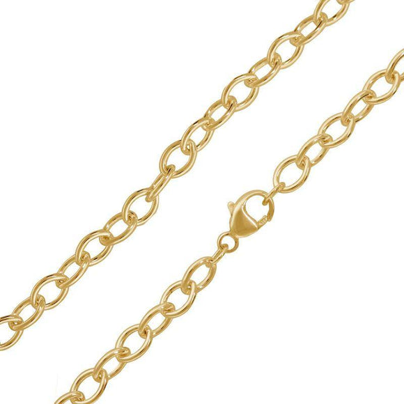 4.8mm Yellow Gold Chain