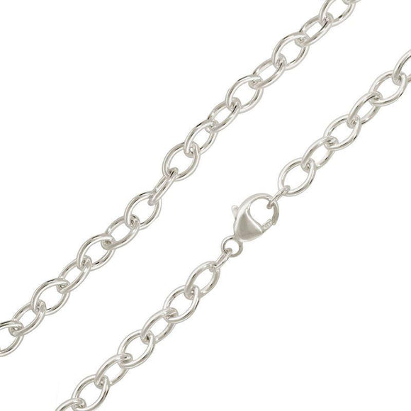 4.8mm Silver Chain - Heather B. Moore