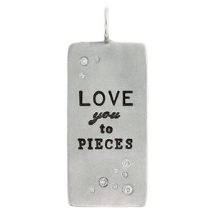 Love You To Pieces ID Tag